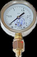 Манометр для вимірювання тиску дизеля (вібростійкій) 100атм
