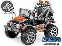 Детский электромобиль джип Peg-perego Gaucho Rockin
