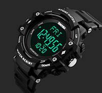 Спортивные часы Skmei 1180, водостойкие (пульсометр и шагомер)