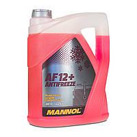 Охлаждающая жидкость Mannol AF12+ Antifreeze 5л