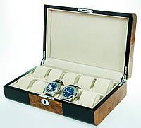 Деревянная шкатулка для часов Salvadore 80510YBC на 10 отделений