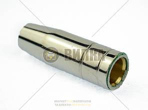 Сопло гладкое медное хромированное полуавтоматической горелки  МВ-15 Vita