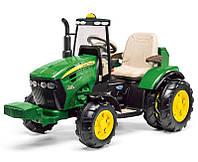 Детский электромобиль-трактор Peg-perego John Deere Dual Force 12V