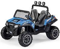 Детский электромобиль джип Peg-perego Polaris Ranger RZR 900 Blue
