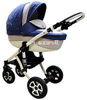Детская коляска универсальная 2 в 1 Adamex Barletta 215L (Адамекс Барлетта)