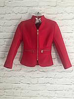 Куртка-пиджак для девочек 6-14 лет