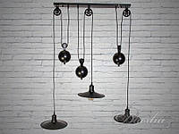 Люстра Loft на 2 плафона 9204-3