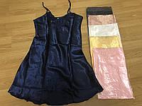 Ночнушки женские, однотонная ночная сорочка с вышивкой