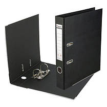 1712-01C-А Папка-реєстратор двост,Prestige,РР 7,5cм, зіб,чорн, фото 2