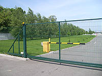 Ворота металлические Заграда 2,0х3,0 м