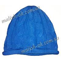 Шапка вязанная синяя Old Navy (634576-01-2) девочка