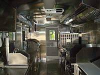 Переоборудования автобусов в мобильное кафе