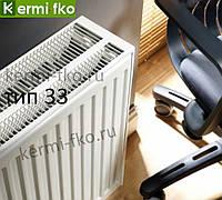 Радиатор стальной Kermi FTV330501001R1K 500x1000 33 тип нижние подключение