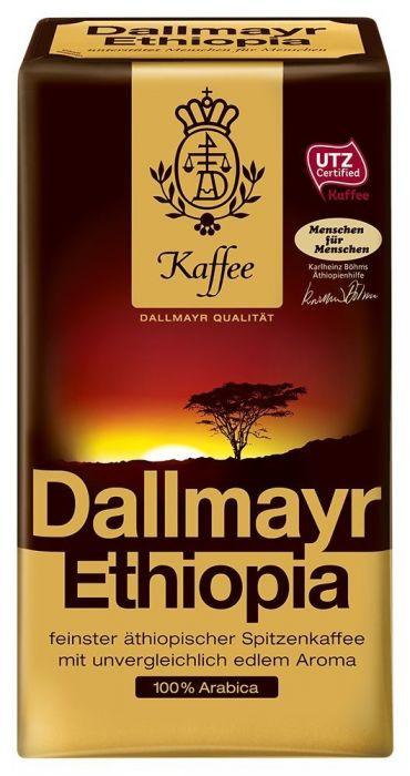 Кофе молотый немецкий Dallmayr Ethiopia, 500г, из элитных сортов эфиопской арабики