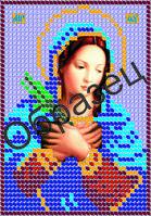 Схема для вышивки бисером «Пресвятая Богородица Умягчение злых сердец»