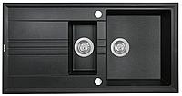 Мойка кухонная Perfelli Santino PGS 516-96 (black)
