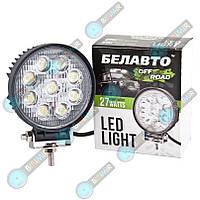 Доп фары LED BELAUTO Off Road (точечный) 27W