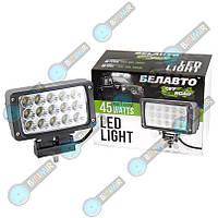 Доп LED Фары BELAUTO BOL 1503F (рассеивающий)