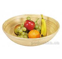 Ваза для фруктов Kesper G63030 круглая 30 см светлая