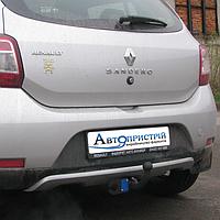 Фаркоп на Renault Sandero Stepway (2010-2013) Рено Сандеро Степвей