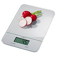 Стеклянные кухонные весы с сенсорным управлением из Германии, фото 1