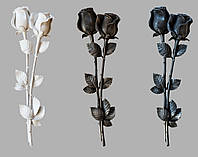Декор для памятников Розы из полимера №3, фото 1