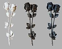 Декор для памятников Розы из полимера №3