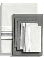 Постельное белье из эвкалипта, бамбука и хлопка Ruya от Eke Home white/grey
