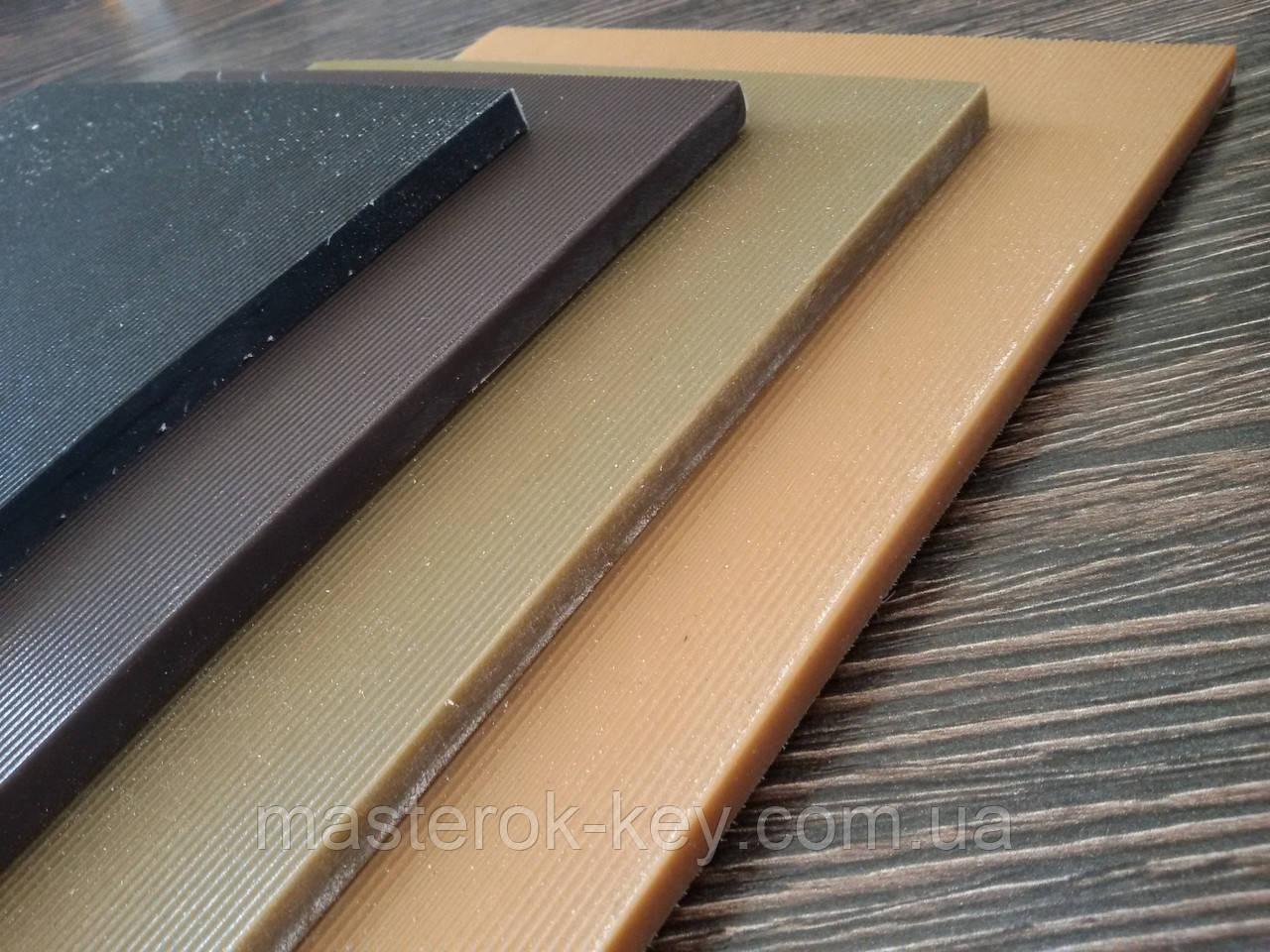 Полиуретан BISSELL ЛИНИЯ 1/2л. жесткий зашкуренный р. 150*260*6 мм цвет чёрный