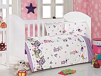 Постельное белье для младенцев Eponj Home KUSLAR LILA