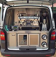 Переоборудования фургонов в мобильное кафе