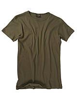 Футболка облегающая 100% хлопок MilTec Body Style Olive 11013001