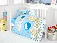 Постельное белье для младенцев Eponj Home YUMOS MAVI