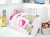 Постельное белье для младенцев Eponj Home YUMOS PEMBE