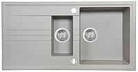 Мойка кухонная Perfelli Santino PGS 5161-96 (grey metallic)