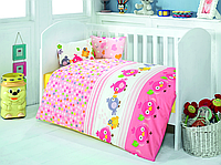 Постельное белье для младенцев Eponj Home ZUZU PEMBE