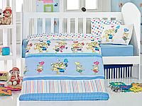 Постельное белье для младенцев Eponj Home PITIRCIK MAVI