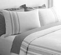 Элитное постельное белье  Ruya от Eke Home white/grey