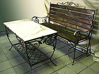 Кованый стол 2