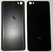 Крышка задняя Хiaomi MI5 Black (plastic)