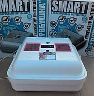 Инкубатор для яиц Рябушка Smart Plus-70 аналоговый с ручным переворотом и инфракрасным нагревателем