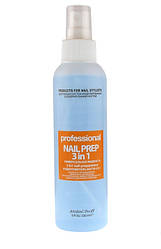 Nail Prep 3 in 1 Jerden PROFF - Антисептик, дегидратор, обезжириватель, 150 мл
