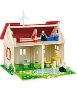 Кукольный домик Viga Toys, детский игровой домик, кукольный домик для девочек