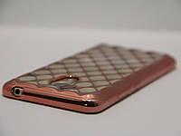 Чехол для смартфона Meizu M3/M3s ромб бронза, фото 1