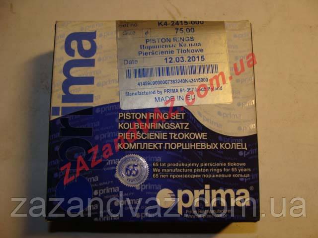 Кольца поршневые Таврия 1102 Славута 1103 Prima Прима 72.0 стандарт Польша оригинал