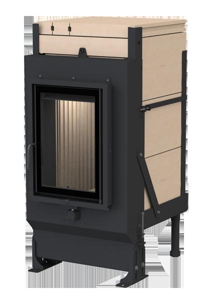 Массивная теплоаккумулирующая печь Brunner GOT 52/37-ZL side-opening door + GOF 37 x 42 cm