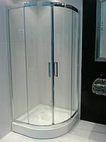 Душевая кабина на мелком поддоне 900*900*2000 мм, стекло прозрачное