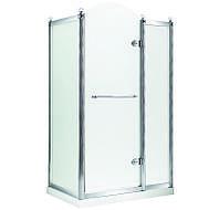 GRAND TENERIFE Silver Кабина с распашной дверью, в серебре, без поддона 1200*800*2000мм, правая