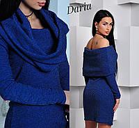 Платье. Ткань - турецкая рибана .