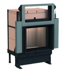 Массивная теплоаккумулирующая печь Brunner GOT 57/67-ZL lifting door + GOF 66 x 42 cm